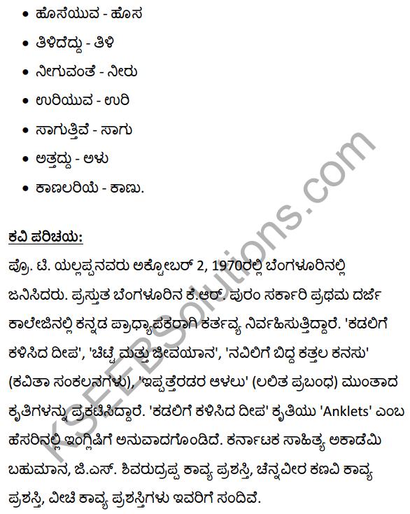 2nd PUC Kannada Textbook Answers Sahitya Sampada Chapter 11 Hatti Chitta Matt 13