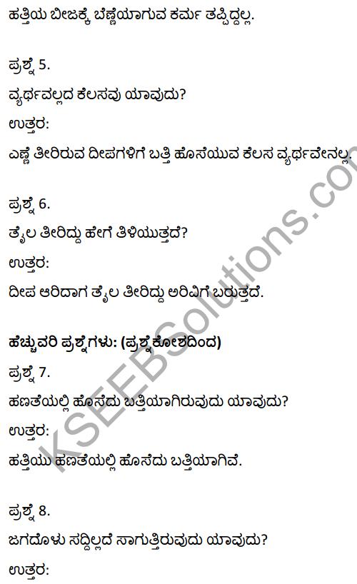 2nd PUC Kannada Textbook Answers Sahitya Sampada Chapter 11 Hatti Chitta Matt 2