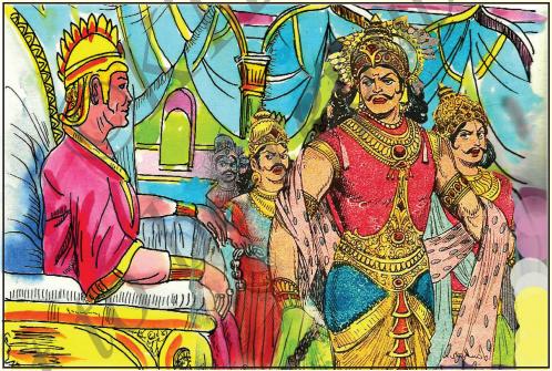 KSEEB Solutions for Class 7 Hindi Chapter 17 सिकंदर और पुरूरवा 6