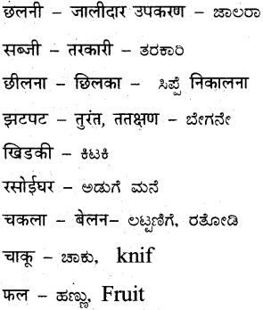 KSEEB Solutions for Class 7 Hindi Chapter 7 रसोईघर 4
